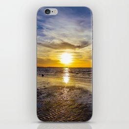 cape charles sunset iPhone Skin