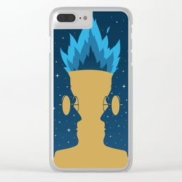 The Goblet of Fire Clear iPhone Case