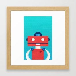 Robot Portrait No.1 Framed Art Print