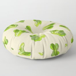 Lettuce Bok Choy Vegetable Floor Pillow