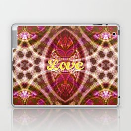 Tribal Love Geometry (Pinks) Laptop & iPad Skin