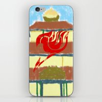 fairy tail iPhone & iPod Skins featuring Fairy Tail Segmented by JoshBeck