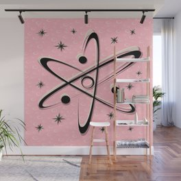 Atomic Love - Lunar Pink Wall Mural