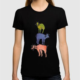 3 Billy Goats Up T-shirt