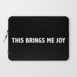 Marie Kondo This Brings Me Joy Laptop Sleeve