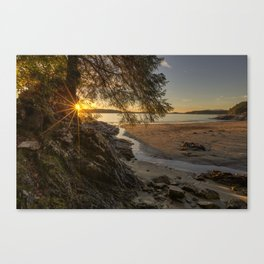 Tonquin Beach Sunset Canvas Print