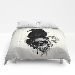 Raven and Skull Comforters