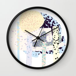 Tropical Iceland Wall Clock