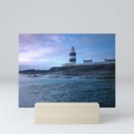 Hook Lightouse, Hook Head, Co. Wexford, Ireland Mini Art Print