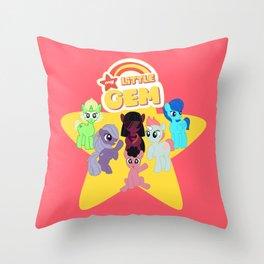 My Little Gem Throw Pillow