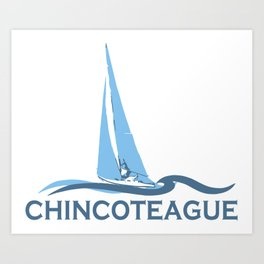 Chincoteague Island - Virgina. Art Print