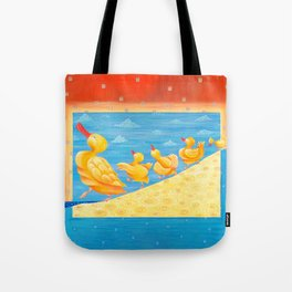 Dancing Quacks - Happy Dancing Quacks Family Tote Bag