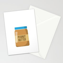 Peanut-butter Man Stationery Cards