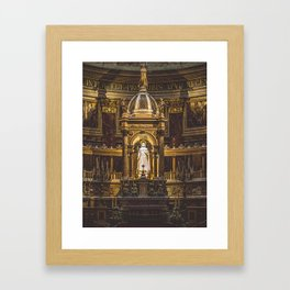 The Alter. Framed Art Print