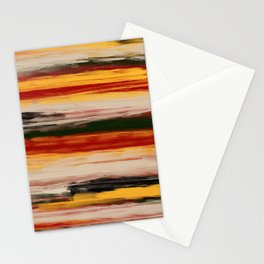 Fall Abstract Stationery Cards