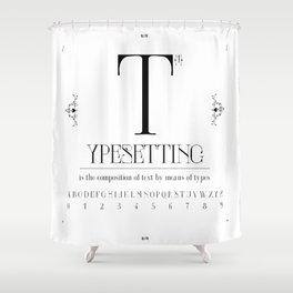 Type Shower Curtain
