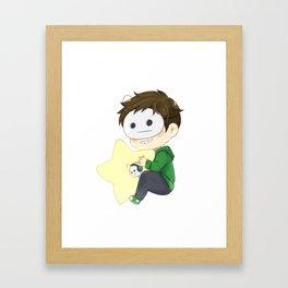 Cryaotic Chibi Star Framed Art Print