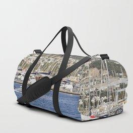Bodrum Marina Turkey Duffle Bag
