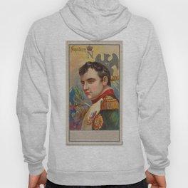 Vintage Napoleon Bonaparte Portrait Illustration (1888) Hoody