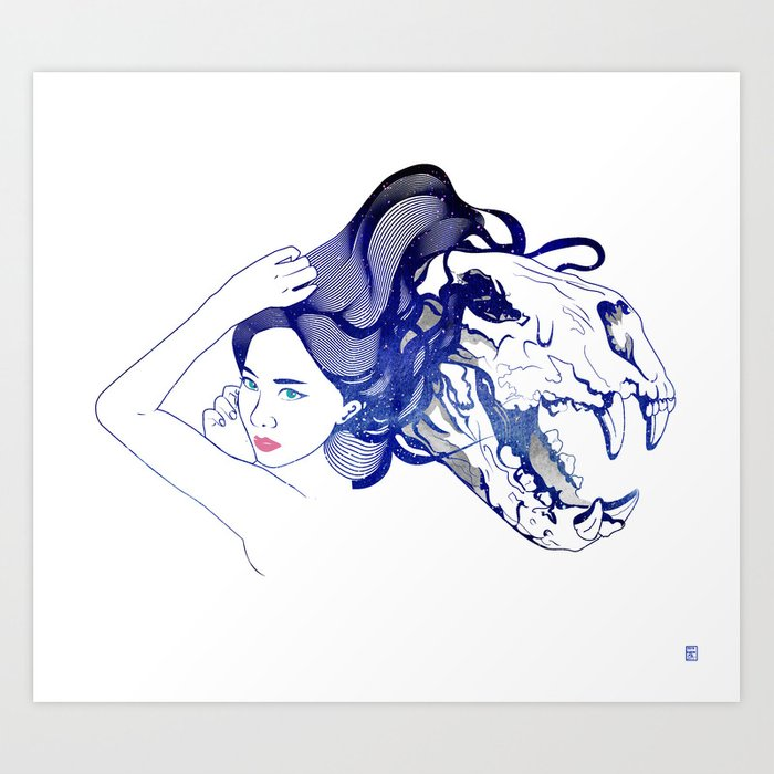 Lion Spirit Art Print