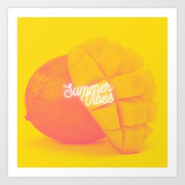 Summer Vibes (Mangoes) Art Print