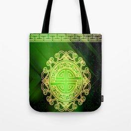 Jade island Tote Bag
