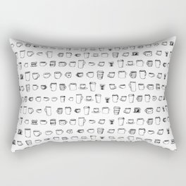 Coffee on Coffee Rectangular Pillow