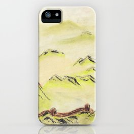 Great Wall (1 of 3) iPhone Case