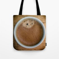 coffe Tote Bags featuring Coffe Time by JAY'S PICTURES