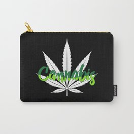 Cannabis   Marijuana Weed Pot Head Gifts Carry-All Pouch