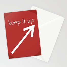 Keep It Up Stationery Cards