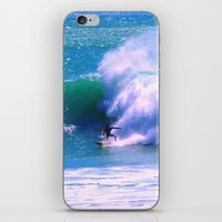 surfer iPhone & iPod Skins featuring Surfer by suzyoconnor