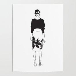 Black & White Fashion Jason Wu Poster