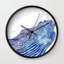 Water Nymph XXXVIII  Wall Clock