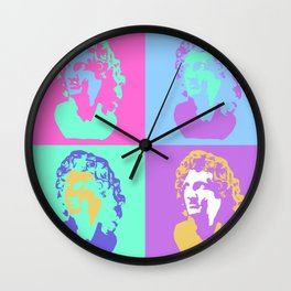 Vaporwave Aesthetic - Colour Wall Clock
