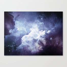 A Sky Made of Diamonds Canvas Print