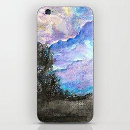 Last Night's Sky iPhone Skin