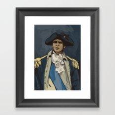 George Washinghton Framed Art Print