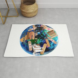 Love to Heal the Earth Rug