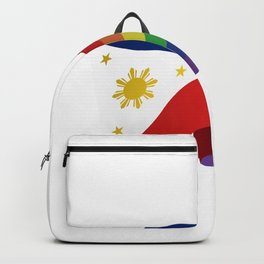 Philippine Rainbow Pride Flag Unofficial Backpack