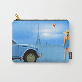 French blue Carry-All Pouch