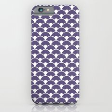 Dragon Scales Deep purple iPhone 6s Slim Case
