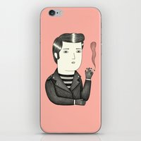 elvis iPhone & iPod Skins featuring Elvis by Ana Albero