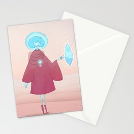 Crystal Girl Stationery Cards