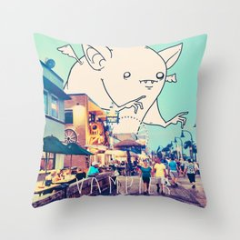 Vampier Throw Pillow