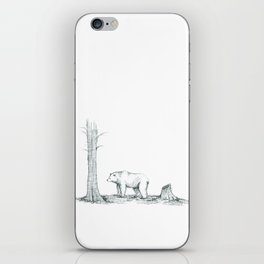 Big Old Grizzly Bear iPhone Skin