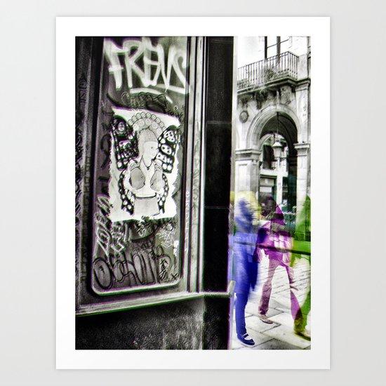 liveliest revel ivy lure Art Print