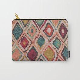 V38 EPIC ANTHROPOLOGIE MOROCCAN CARPET TEXTURE Carry-All Pouch