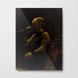 Otep Shamaya Metal Print