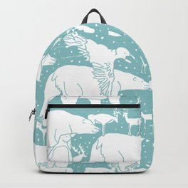 Polar gathering (peppermint) Backpack